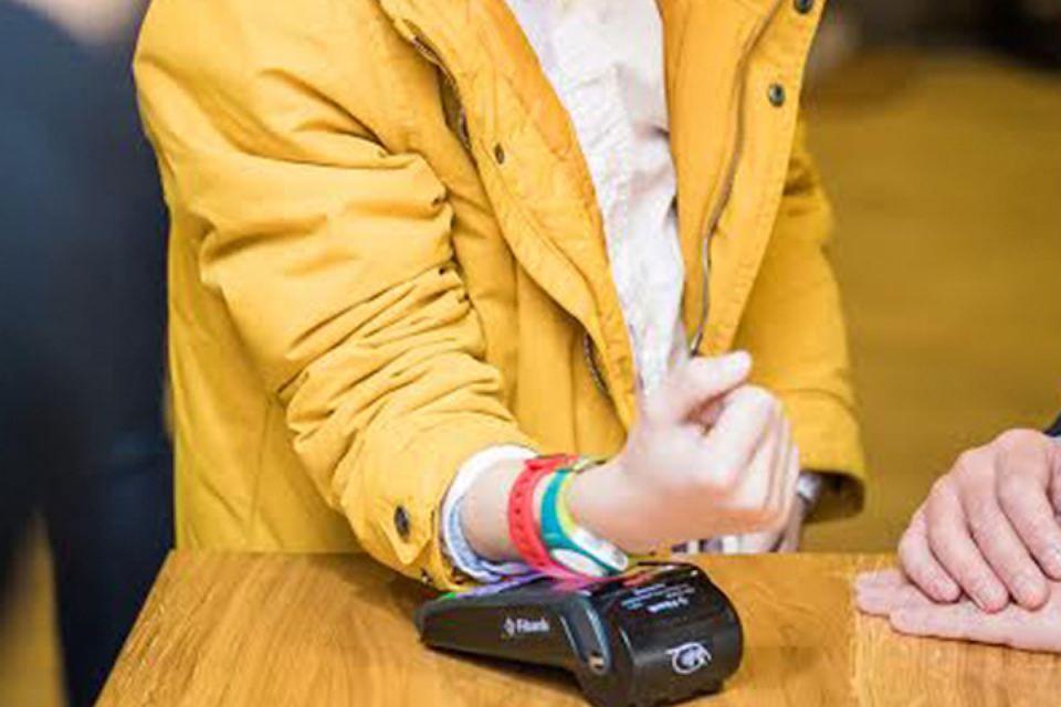 силиконовые браслеты с чипом
